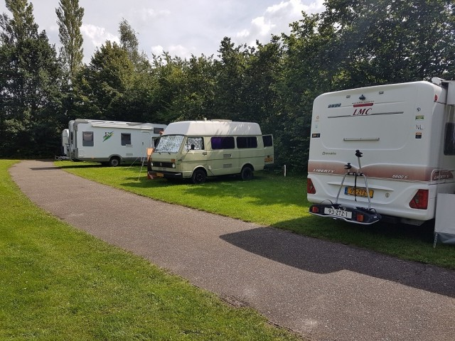 Motorhome pitch